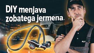 Kako zamenjatikit zobatega jermena in vodne črpalkenaFORD FIESTA JA8 [VODIČ AUTODOC]