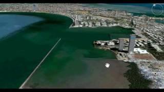 A virtual trip to bombay using google earth