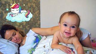 Мой ДЕНЬ: выходные! Не даём спать маме. Купания в БАССЕЙНЕ с шарами. Детский день