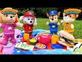 Best Toy Learning Video for Kids - Paw Patrol Snuggle Pup Picnic!