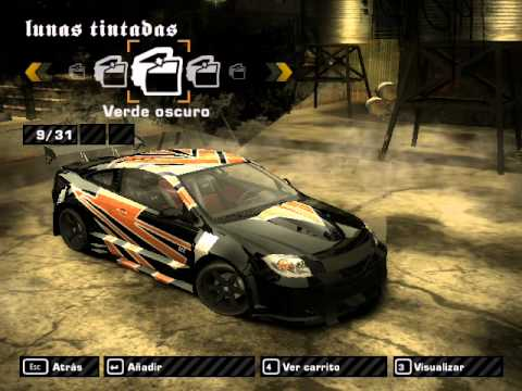 NFS Most Wanted tuning - Chevrolet Cobalt SS