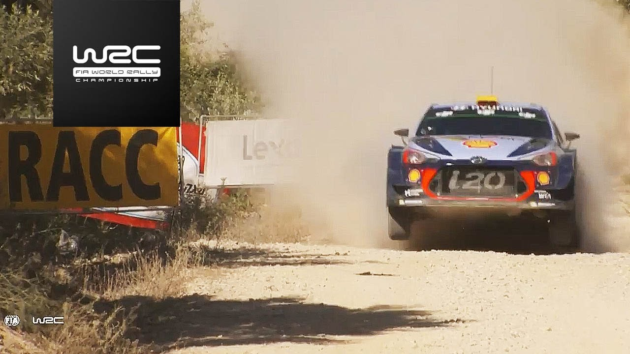 WRC - RallyRACC 2017: Highlights Stages 1-3