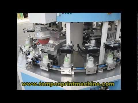 6 colors christmas ball printing machine