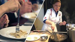 Битва поваров: как лучше всех приготовить итальянскую пасту Карбонара