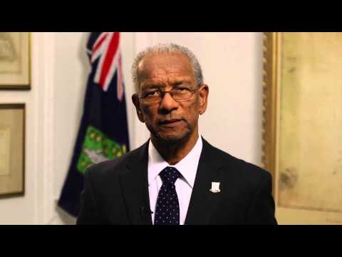 The BVI Premier emphasises the positive role the BVI plays in the global economy