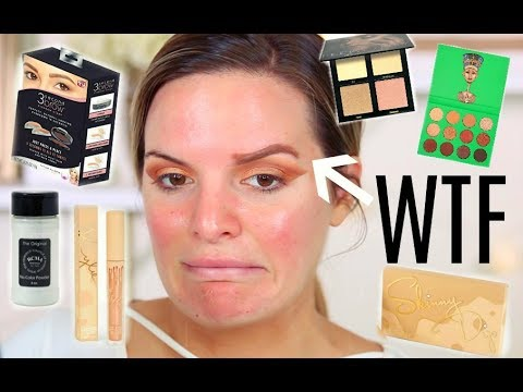 TESTING POPULAR INSTAGRAM BEAUTY PRODUCTS! HITS & MISSES | Casey Holmes