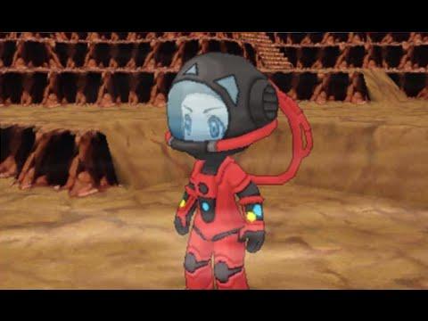Pokemon Omega Ruby Putting On Magma Suit Amp Riding On
