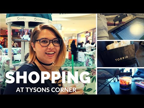 Tysons Corner Shopping Trip | VLOG