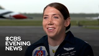 Female Thunderbird pilot wants to inspire others