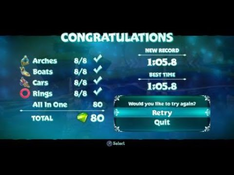 *WORLD RECORD* Ocean Speedway Fastest Time Recorded - Spyro