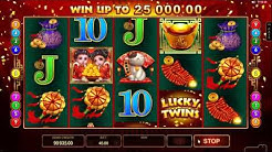 Lucky Twins slot Microgaming - Gameplay