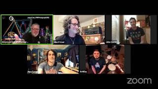 Pino Farina Band - Live Facebook Interview with Jim Obos