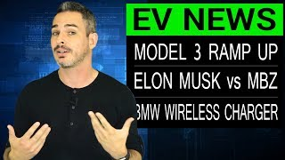 Tesla Model 3 Production May Be Behind & Other EV News