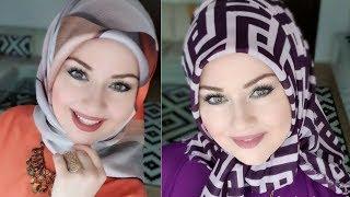 EID Tutorial Hijab 2018 - Part 6 - لفات حجاب للعيد