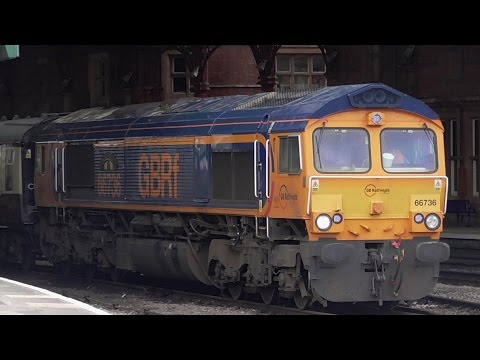 *****Mega RARE 66736 @ Bristol Temple Meads with coaches!*****