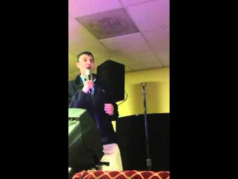 Karaoke night at Rabbinic Training Institute