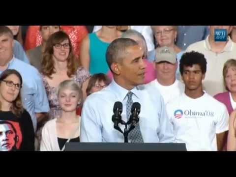 Obama In LaCrosse, Wisconsin - Full Speech