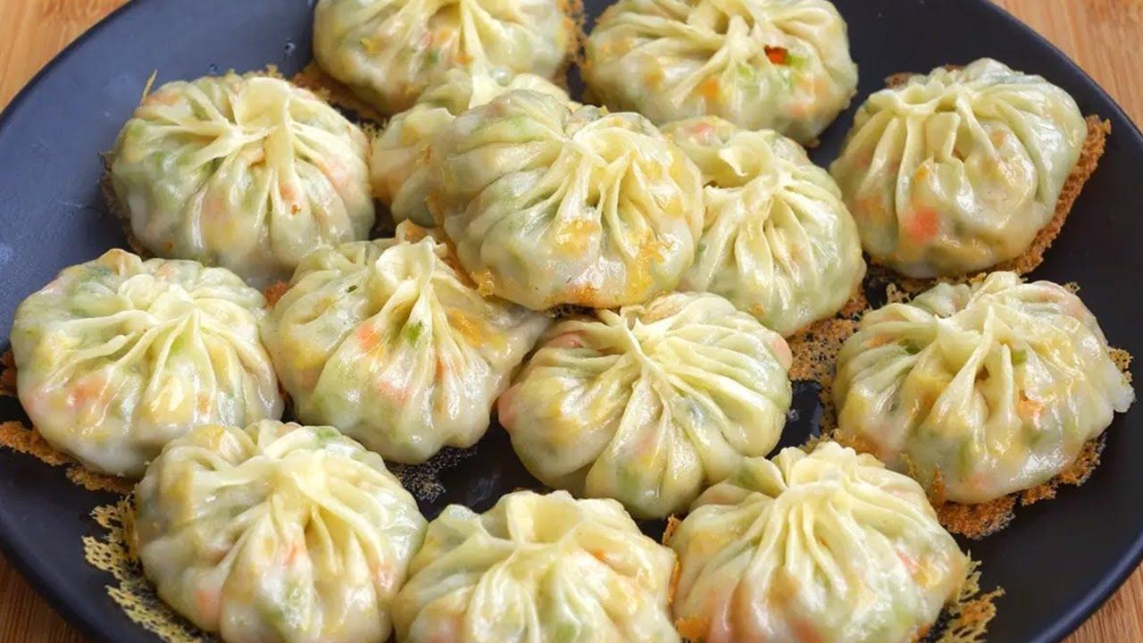 入秋後多吃這菜,營養豐富助消化,買來做包子,一次20個不夠吃~Bun【娟子美食】