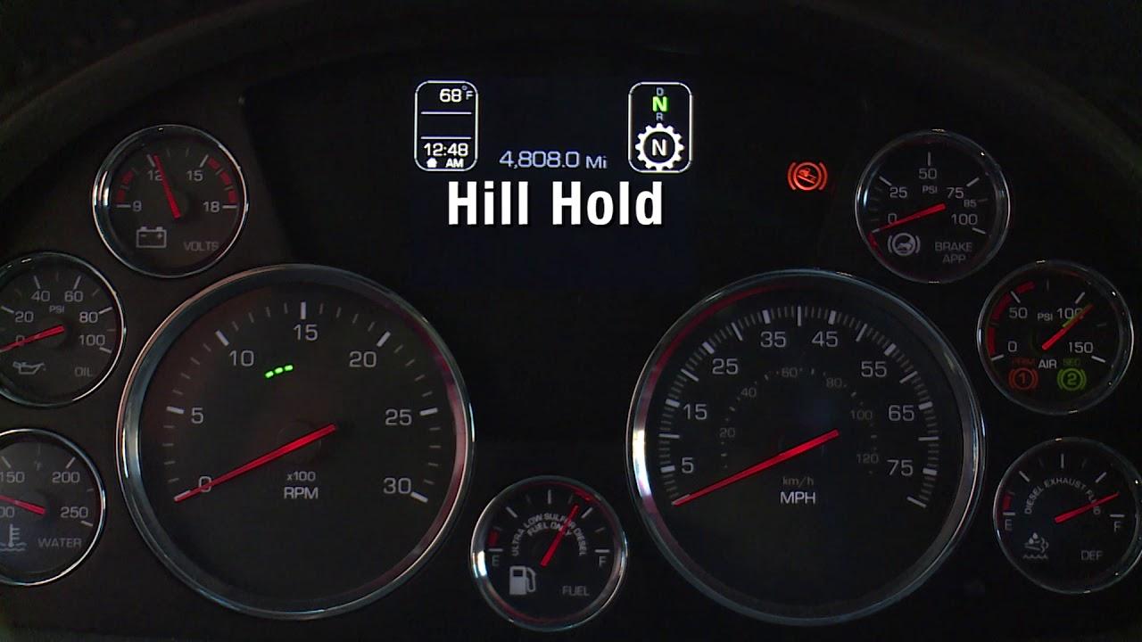 14: T680 Kenworth Driver Academy - Instrument Cluster Indicators