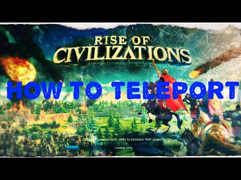 How to Teleport Official Guide [ Beginner's Guide ] | Rise of Kingdoms
