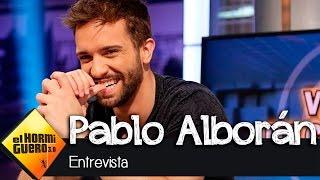 """Pablo Alborán en El Hormiguero 3.0: """"Las palomas vienen a mi casa a"""