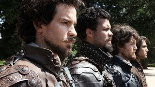 THE MUSKETEERS Show Off Their Beards - New SUN 9/8c BBC AMERICA