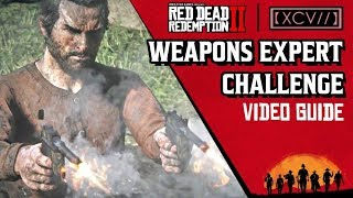 RED DEAD REDEMPTION 2 · Weapons Expert Challenge Video Guide | 【XCV//】
