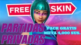 ✔️🔴 PRIVATE PARTIES #PACK FREE GOAL 4,100-AWARDS!#SKIN-FORTNITE FOR SUBSCRIBERS✔️