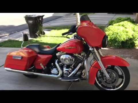 Lepera Silhouette Seat On A 2012 Harley Street Glide Youtube