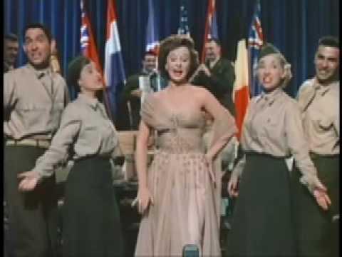 Susan Hayward as Jane Froman-America the Beautiful Medley