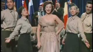 Susan Hayward as Jane Froman-America the Beautiful Medley