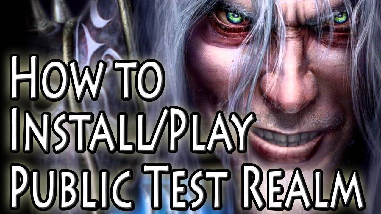How To Play on the Warcraft 3 1 29 Public Test Realm