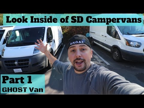 What's it Like Inside of a Van Building/Rental Company? Part 1 of 2