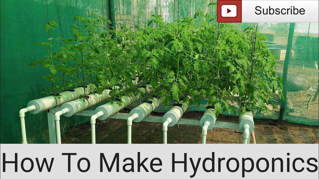 DIY Hydroponic System ,Hydroponoics NFT