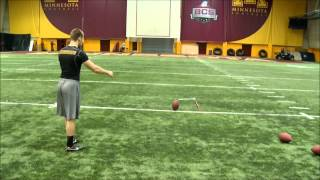 Jordan Wettstein | University of Minnesota Pro Day | NFL Draft Eligible Kicker