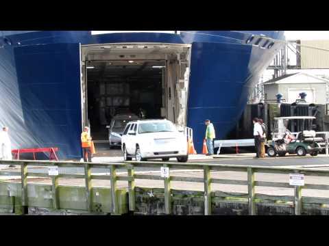 Ferry Docking @ Yarmouth Sat July 26. 2014