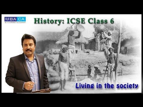 Living in the society : ICSE CLASS VI CIVICS