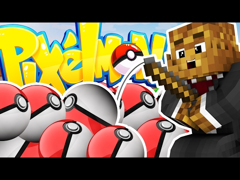 Minecraft PIXELMON LUCKY DIP MINIGAME CHALLENGE - Pokemon Modded Battle Minigame