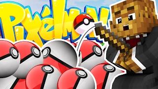 minecraft pixelmon lucky dip minigame challenge pokemon modded battle minigame