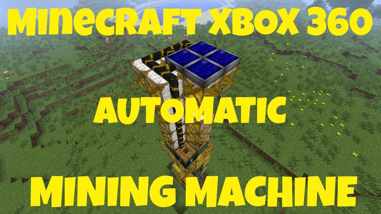 automatic miner minecraft