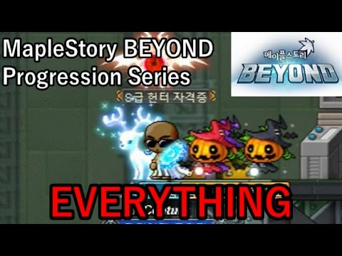 LEVEL 230 DARK KNIGHT: EVERYTHING (MapleStory BEYOND Progression Series: Season Finale)