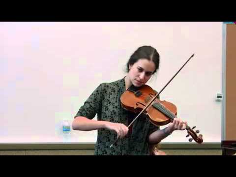 Brittany Haas demos Old-time music