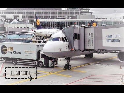 FLIGHT REPORT | Lufthansa Airbus A320 | Frankfurt to Hamburg | Economy