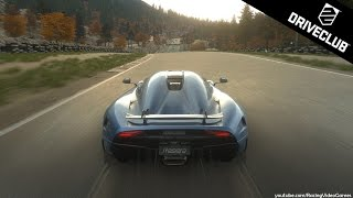 DriveClub | Koenigsegg REGERA Gameplay | New Fastest Car (PS4)