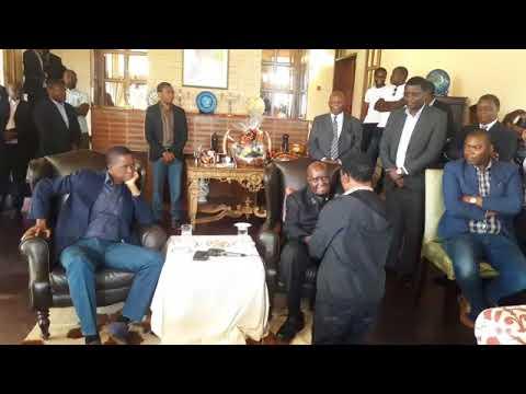 President Lungu at KK's 94th  Birthday