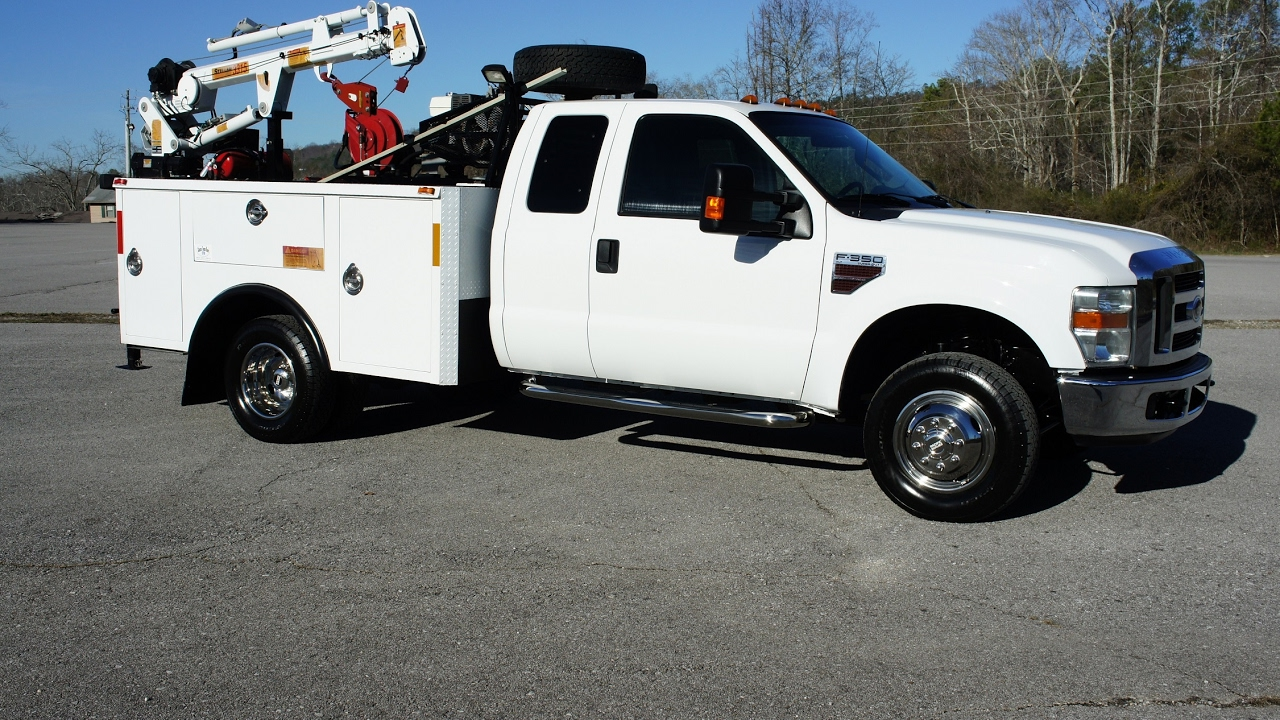 2009 ford f-350 mechanics truck 4x4 utility service truck for sale