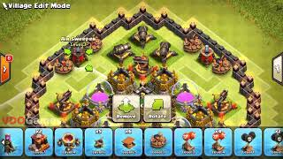 Town Hall 10 Funny Base Design   Clash of Clans 2018