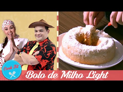 BOLO DE  MILHO LIGHT | COOK FIT | Matheus Ceará E Dani Iafelix