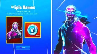 *NEW* How to Get The *GALAXY SKIN* For FREE in FORTNITE Battle Royale
