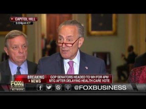 Sen. Schumer bashes health care bill